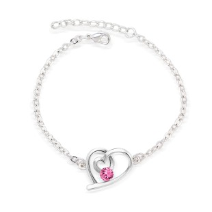 Precious Heart Bracelet (B03001-03)