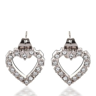 Cosmic Heart Earrings (E03003-01)