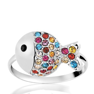 Blow Fish Ring (R05013-01)