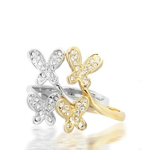 Linda Butterfly Ring (R06004-01)