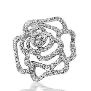 Frozen Rosa Brooch (X05004-01)